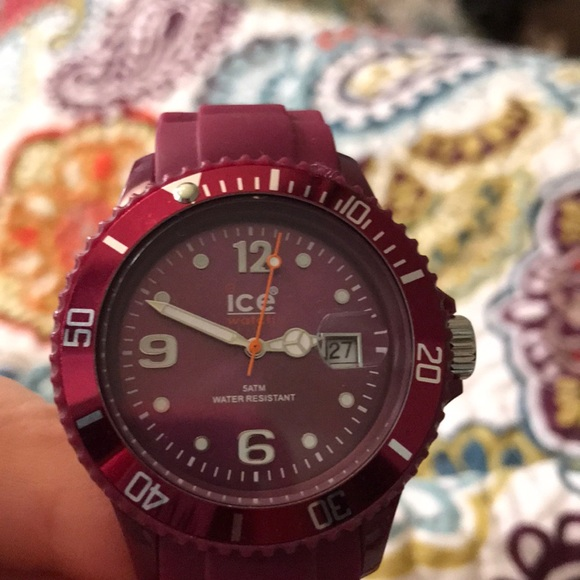 Ice Accessories - Sporty ICE brand Watch Used-LIKE NEW
